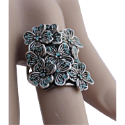 Ring Sterling Silver Turquoise chip