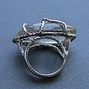 Ring Sterling Silver  Rutile