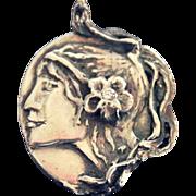 Sterling Silver Pendant Fianit