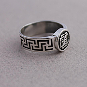 Mens Ring Sterling Silver Ring