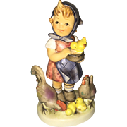 Hummel 199/0 Feeding time figurine TMK6 girl figurine Goebel!