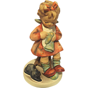 Hummel Goebel 133 Mother's Helper girl cat figurine TMK6 vintage
