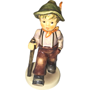 Hummel Goebel Grandpa's Boy TMK7 562 boy w walking stick Figurine!
