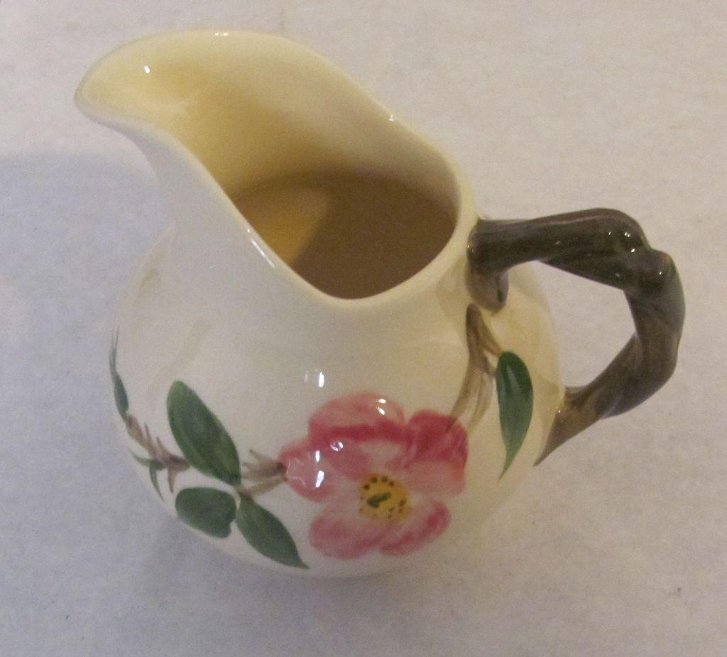 Desert rose Franciscan creamer vintage nice