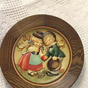 Anri Wedding day 1974 plaque carved Ferrandiz wooden