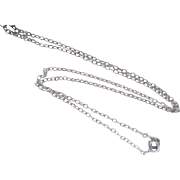 Vintage Art Deco Sterling Chain