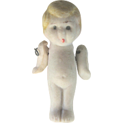 LAST CHANCE..Vintage Art Deco (1920's) Miniature Kewpie Bisque Doll