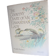 "Vintage ''The Country Diary of An Edwardian Lady"" Book"