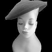 VintaGE 1930's Black Hat