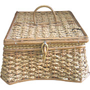 Vintage Sewing Basket Box