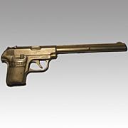 Stevens 25-50 Target Toy Cast Iron Cap Gun - Full Length Barrel Version