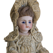 "6"" Simon Halbig mignonette all bisque doll 'Bather' circa 1880"