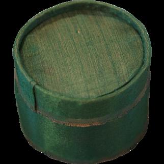 Charming Miniature Silk Hat Box