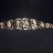 "Rare, ""Pink Face""  Blackamoor African Tribal Bracelet"