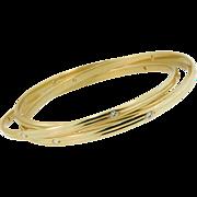 Vintage Cartier Diamond Trinity Bracelet