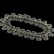 Vintage Silver Marquisette Bracelet