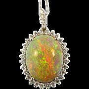 Vintage 9.90 ct. Opal Pendant