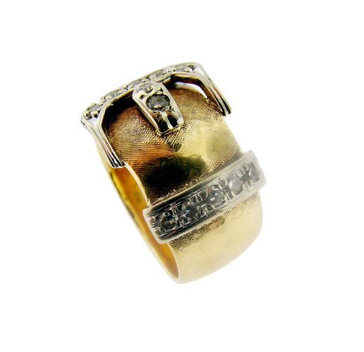 Antique Buckle Ring