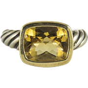 David Yurman Classic Citrine Ring