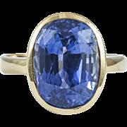 Vintage Stunning 8.50 CT Sapphire Ring