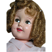 Ideal Shirley Temple Doll All Original  Flirty Eyes  Plastic/Vinyl