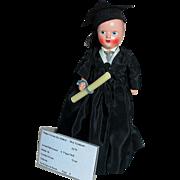 Virga Hard Plastic Doll  Boy Graduate #479  MIB