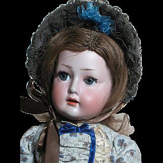 Rare Gebruder Ohlhaver Revalo German Bebe Child Doll  Gebruder Heubach