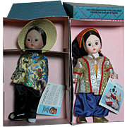Madame Alexander Doll MIB China and Turkey  International Dolls