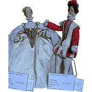 Au Pelican  Cloth Dolls  Paris Prince and Princess  French Chateau Country  Paris France