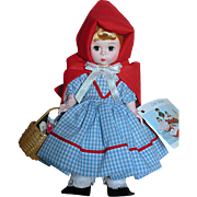 Madame Alexander Doll Red Riding Hood She does have a box  MIB