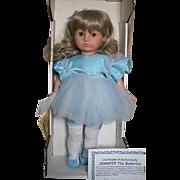Zapf Creation Doll Jennifer the Ballerina  MIB  #4 out of 40 dolls. Signed on Body by Helga Zander Germany