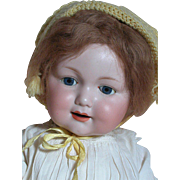 Happy Armand Marseille 327 Character Baby doll Large and Nicely dressed Composition  Baby Body