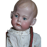 German Character Doll Armand Marseille  Fany Bisque Head Composition Toddler Body