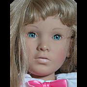 Vintage Furga Italy Doll Nicole Vinyl and Cloth Large Doll