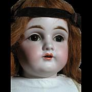German Kestner Doll Bisque Shoulder Head Kid body   Beautiful Face