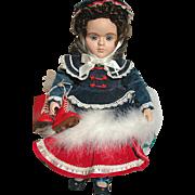 Vintage Gorham Children of Christmas Doll  Natalie Susan Stone Aiken Designer in original Box
