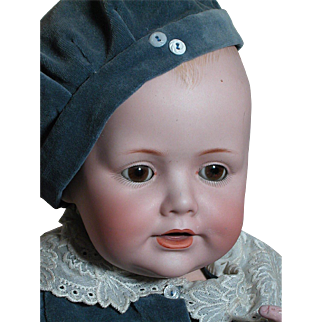 German Kestner Character Doll  Baby Jean Bisque Head Composition Baby Body Beautiful
