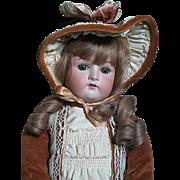 "German Cuno Otto Dressel Doll Composition Doll 23""  Beautiful"