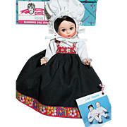 Madame Alexander  Norway Doll MIB   Friends from Foreign Lands