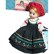 Madame Alexander Doll Findland  MIB  Friends from Foreign Lands