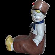 Erphila Made in Germany Figure  Dutch Boy  Sitting