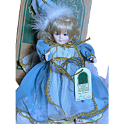 Small Robin Woods Doll  Lucy  MIB  Looks like a Fairy God Mother