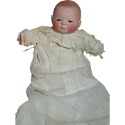 Grace Putnam Bye-Lo Baby Doll Original Gown  Brown Eyes  Small Doll