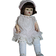 Early Composition Baby Doll  Original Outfit Composition Limbs Cloth Body  Acme Toy