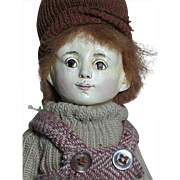 Niada Artist Original Doll by Ruth De Nicola  Boy with label An early 1979 doll  11""