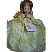 Madame Alexander Doll  Sleeping Beauty  in Gold Gown  MIB