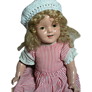 Early Ideal Composition Shirley Temple Doll  21 ""