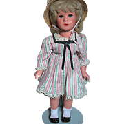 Vintage Kathe Kruse Hard Plastic Celluloid Doll Sleep Eyes   Original