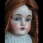Antique Kestner Doll  # 154  Bisque Shoulder Head Kid Rivet Jointed Body
