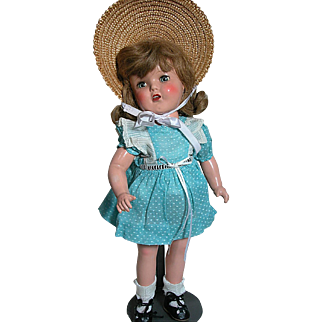 Ideal Doll  Composition Betty Jane Marked USA 16  Original Outfit
